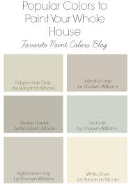 popular paint colors for 2017 benjamin moore favorite paint colors blog