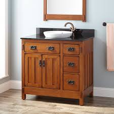 craftsman bathroom cabinets wooden vanity craftsman bathroom