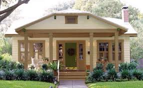tan trim and pillars to match our tan metal roof and to give our