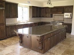 what color cabinets go with brown granite tropical brown granite countertop kitchen design ideas