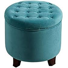 amazon com safavieh mercer collection emma light blue tufted