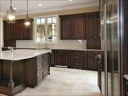 kitchen room marvelous dark kitchen cabinets with white island