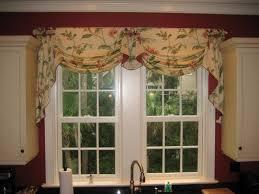 Valance Ideas For Kitchen Windows Kitchen Design Ideas Kitchen Window Treatments Roman Curtains