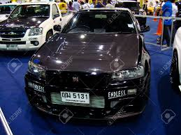 nissan thailand bangkok december 5 nissan skyline gtr car on display at the