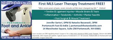 Resume Pain Care Somersworth Nh by Laser Treatments Portsmouth Foot U0026 Ankle Care Portsmouth Nh