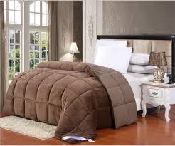 Queen Size Down Alternative Comforter Bedroom Flannel Goose Down Alternative Comforter With King Size