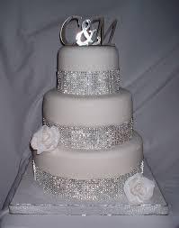 blingy wedding cakes