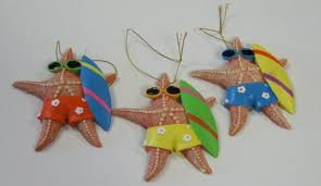 starfish wearing sunglasses with surfboards ornaments wildwood