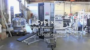 used cybex modular multi station gym for sale youtube