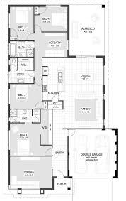 single storey bungalow floor plan uncategorized single story bungalow house plan interesting for
