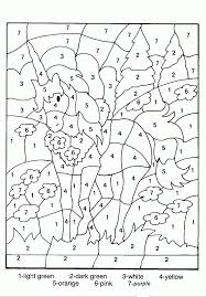 coloring pages for teenagers difficult color by number many