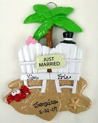 personalized ornaments wedding 9 best personalized wedding christmas ornaments images on