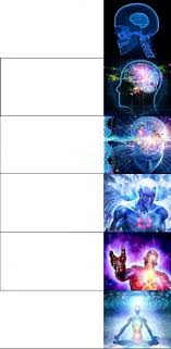 High Quality Meme Generator - expanding brain meme long version blank template imgflip