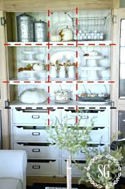 Decorating A Hutch Decorations China Cabinet Decor Ideas Full Size Of China