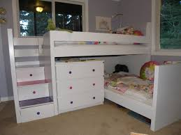 malm toddler bed under malm inspired bunk ikea hackers ikea