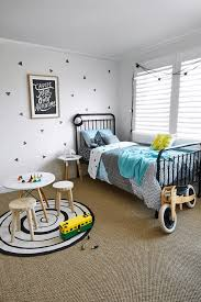 kids room neutral based kids room for two features 3d butterfly