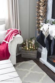 Christmas Living Room by Blogger Christmas House Tour Decorating Ideas How Bloggers