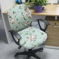 computer chair covers separate style office spandex chair cover printed elastic fabric