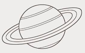 coloring fun free solar system coloring pages saturn planet