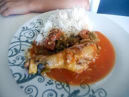 cuisine poulet basquaise recette de poulet basquaise au chorizo au thermomix