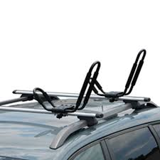 How To Install Roof Rack On Honda Odyssey by Amazon Com J Bar 2 Pairs Universal Kayak Canoe Top Mount Carrier