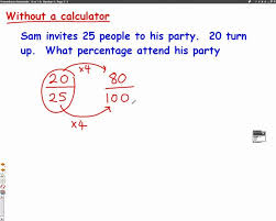 fraction to percent worksheets fractions and percentages decimals