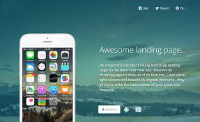 download free responsive html5 landing page bootstrap template