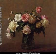 bouquet of roses ignace henri jean fantin latour the complete works bouquet of