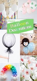 balloon centerpiece ideas awesome balloon decorations 2017