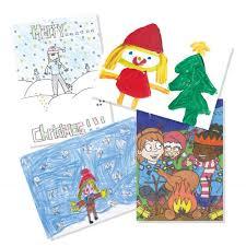 charity christmas cards ne wall