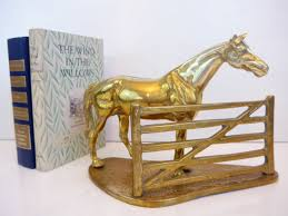 horse statues for home decor vintage very large sold brass horse home decor equestrian statue