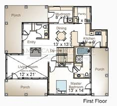 Waterfront Floor Plans Waterfront Cottage Blue Hill Bay Me American Post U0026 Beam