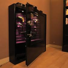 Glass Gun Cabinet Glass Fronted Gun Cabinet With Cerftification Polish Product Iza