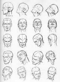 this is good for when u want to draw a face in any direction after