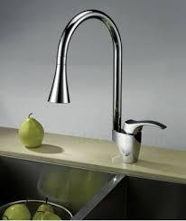 evier cuisine design mitigeur bec douchette tulip adeonna