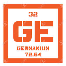 where are semiconductors on the periodic table germanium chemical element metalloid in carbon group a