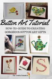 how to make button canvas art the right way button art button