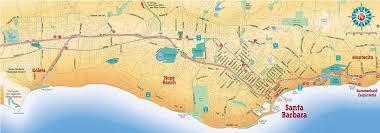 santa barbara california map large santa barbara maps for free and print high