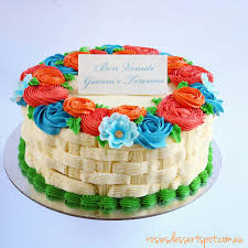 child garden cake rosies dessert spot