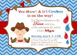 western baby shower invitations marialonghi com