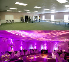 How To Drape Ceiling For Wedding Black And Plum Purple Wedding And Reception