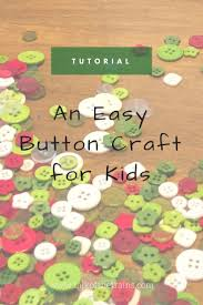 an easy button craft for kids talk of the trains