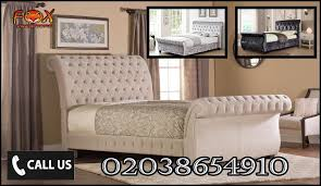 Chesterfield Sleigh Bed Stylish Chesterfield Sleigh Bed Yptf West Midlands Office