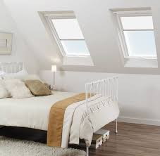 cumbria white skylight blinds for fakro