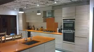 braverman kitchens modern orange kitchen