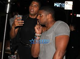 Michael Sam Meme - michael sam and ej johnson hang out outside of bootsy bellows bossip