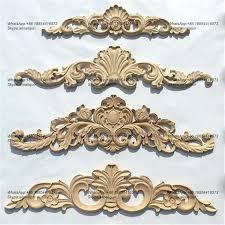 wood decorative appliques onlays ornamental furniture mouldings