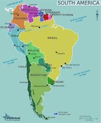 Parana River Map Argentina International Academic Programs