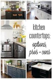 Kitchen Countertop Options by 10 Most Popular Kitchen Countertops Countertops Countertop And
