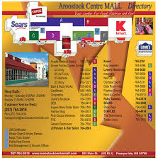 maine mall map aroostook centre mall presque isle me